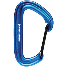 Black Diamond Litewire Mosquetón, blue